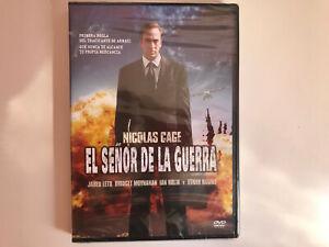 EL-SENOR-DE-LA-GUERRA-THE-WAR-LORD-DVD-NUEVO-PRECINTADO-NICOLAS-CAGE-THRILLER