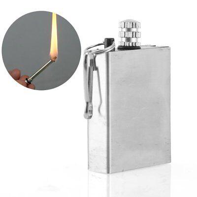 Match Lighter Waterproof Outdoor Camping Metal Permanent Striker Survival Flame