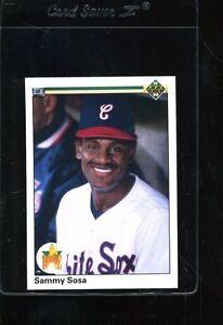 1990 Upper Deck Sammy Sosa 17 Baseball Card