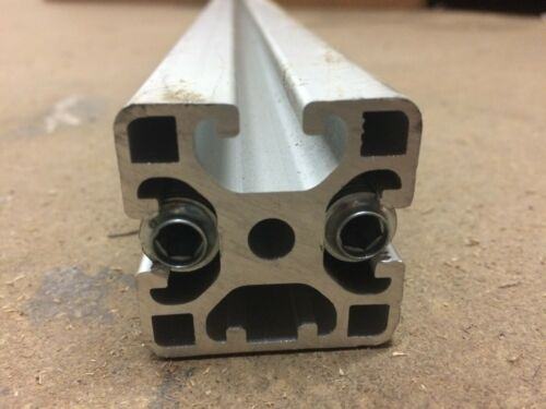 Item 4040 Aluminum Extrusion 8020 Profile 8 40x40 1N Light Open 3 Slot T-slot