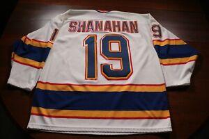 St. Louis Blues True Vintage Brendan Shanahan CCM Maska Jersey NHL Hockey