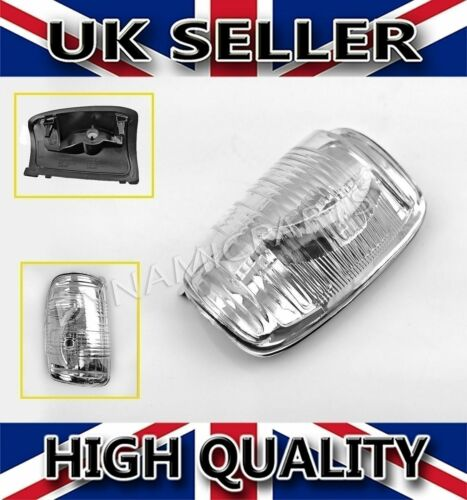 Door Wing Mirror Indicator Lentille Clair Gauche N//S Pour Ford Transit MK8 2014 Onwards