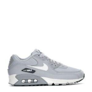 Detalles acerca de 325213 062 Para Mujer Nike Air Max 90 Zapatos Informales GrisGris Oscuro Blanco Talla 6 10 Nuevo En Caja mostrar título original