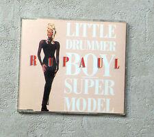 "CD AUDIO INT / RUPAUL ""LITTLE DRUMMER BOY / SUPERMODEL"" 1993 CDS 4T TOMMY BOY"
