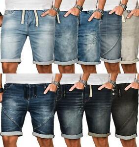 Sublevel-Herren-Sweat-Jeans-Shorts-kurze-Hose-Bermuda-Sommer-Sweathose-Slim-NEU