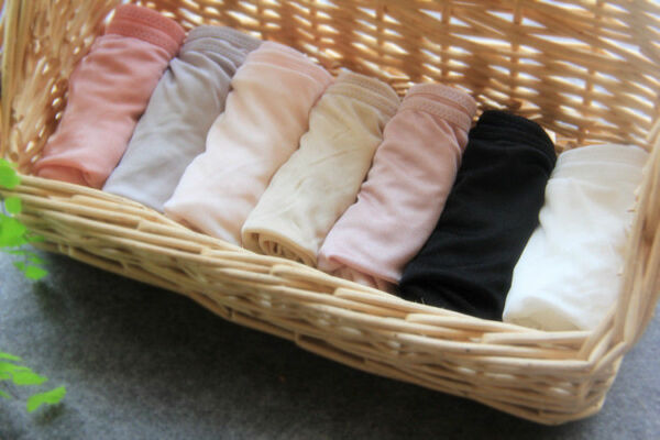 Damen 100% Seide gestrickt Slip Unterhose Japan Shorts atmungsaktiv Schlüpfer