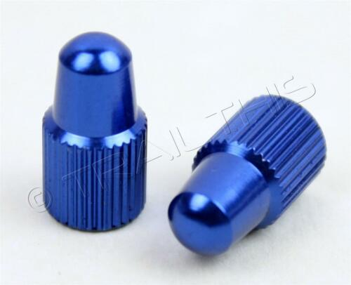 Fixie Yokozuna Anodized Aluminum Alloy Bicycle Presta Valve Stem Caps BLUE