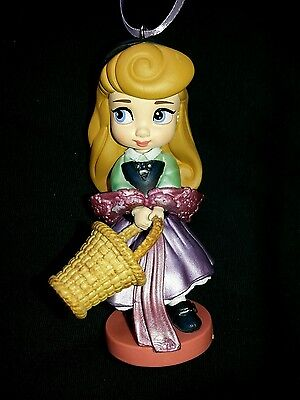 Disney Aurora Sleeping Beauty Young Animator Christmas Ornament NEW