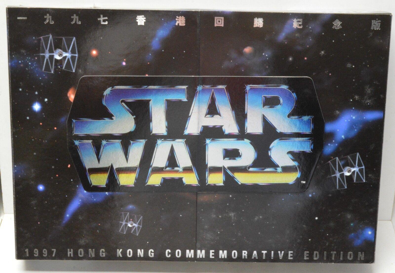 Star - wars - 12  action - figur luke darth obi - wan 1997 in hongkong an 3pk