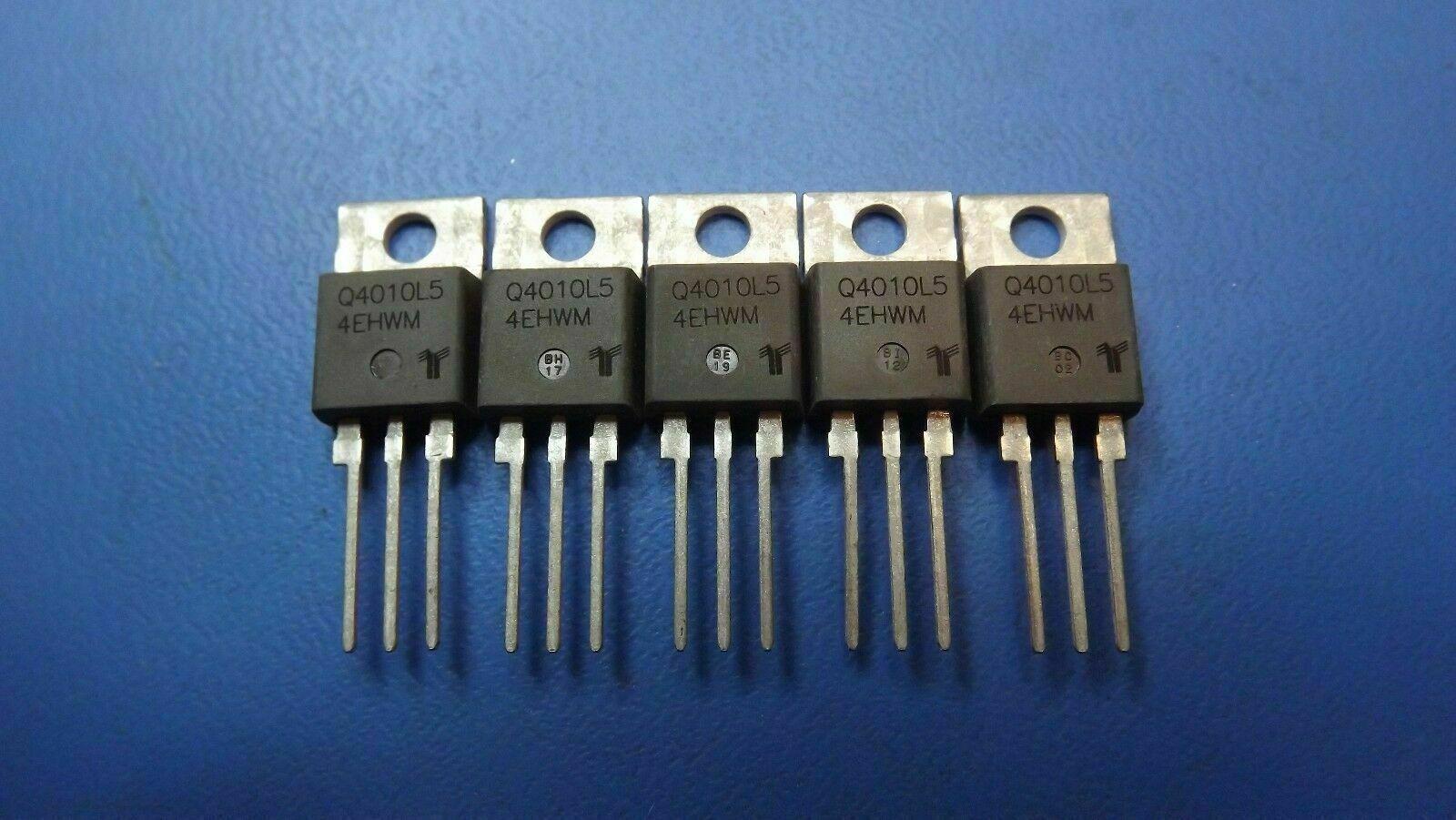 5PCS Q4010L5TP LITTELFUSE//TECCOR Triacs 400V 10A 50-50-50mA
