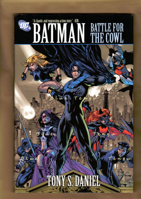 BATMAN COWL BATTLE FOR THE Fabian Nicieza Tony Daniel DC 1st Ed HC 9781401224165
