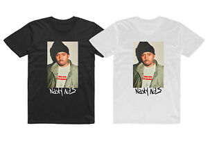NEW-Nasty-Nas-One-Love-Illmatic-Logo-Men-039-s-T-shirt-Tee-S-2XL