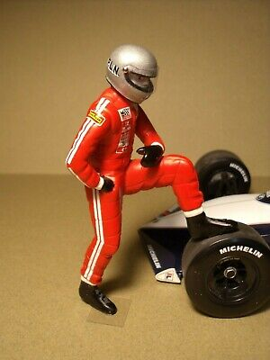 FIGURINE 1//18  PILOTE  DRIVER  4  DEBOUT  VROOM  FOR  F1  MINICHAMPS  SPARK 1//18