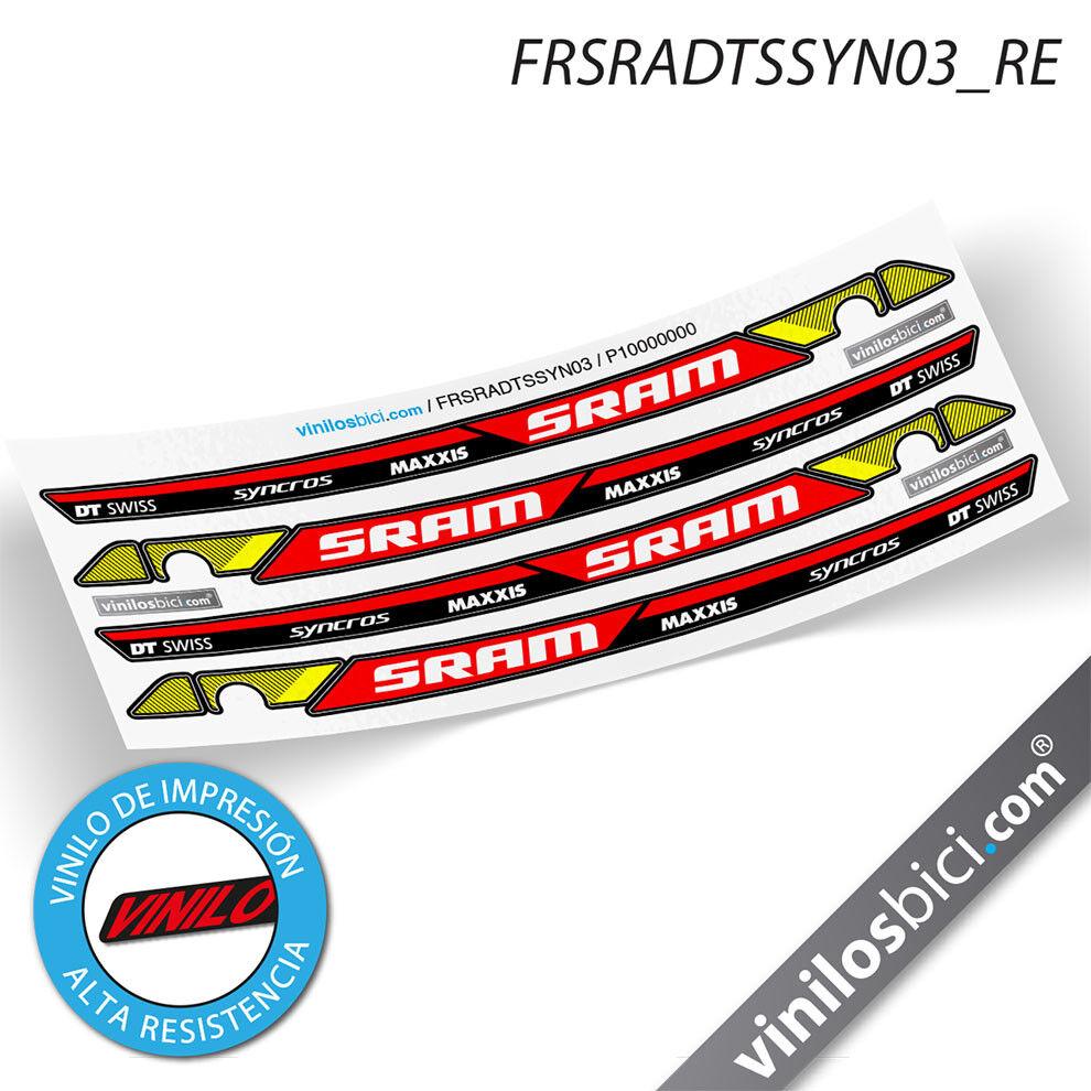 Sram DT DT DT Swiss Maxxis Syncross vinilos adhesivos basculante  ventas en linea