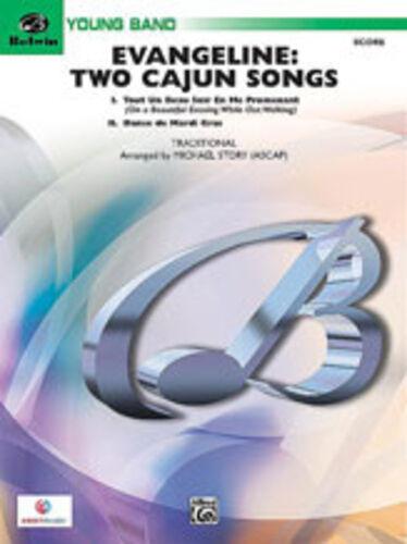 arranger 26727S score ; Story Michael Evangeline Two Cajun Songs ALFRED