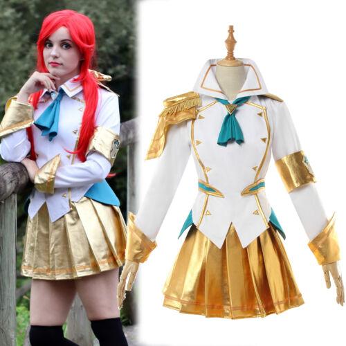 LOL Battle Academia Prestige Lux Cosplay Costume Uniform Outfit Full Set Dress