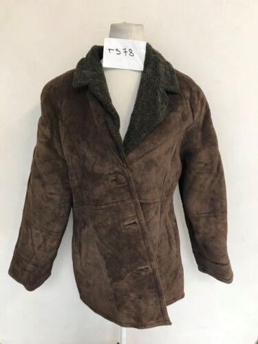 Vera Invernale Pecora Di Vintage Pelle Cappotto wHp8Tq