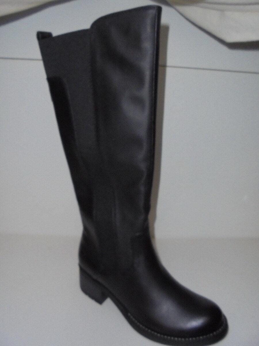 25602 Marco Tozzi  Damen Langschaft Stiefel schwarz antik Reißverschluß Gr.36