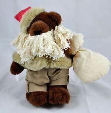 """APPLAUSE Bonita 1991 """"Old Nick"""" Santa Christmas Bear LIMITED ED. No. 2033 / 7500"""