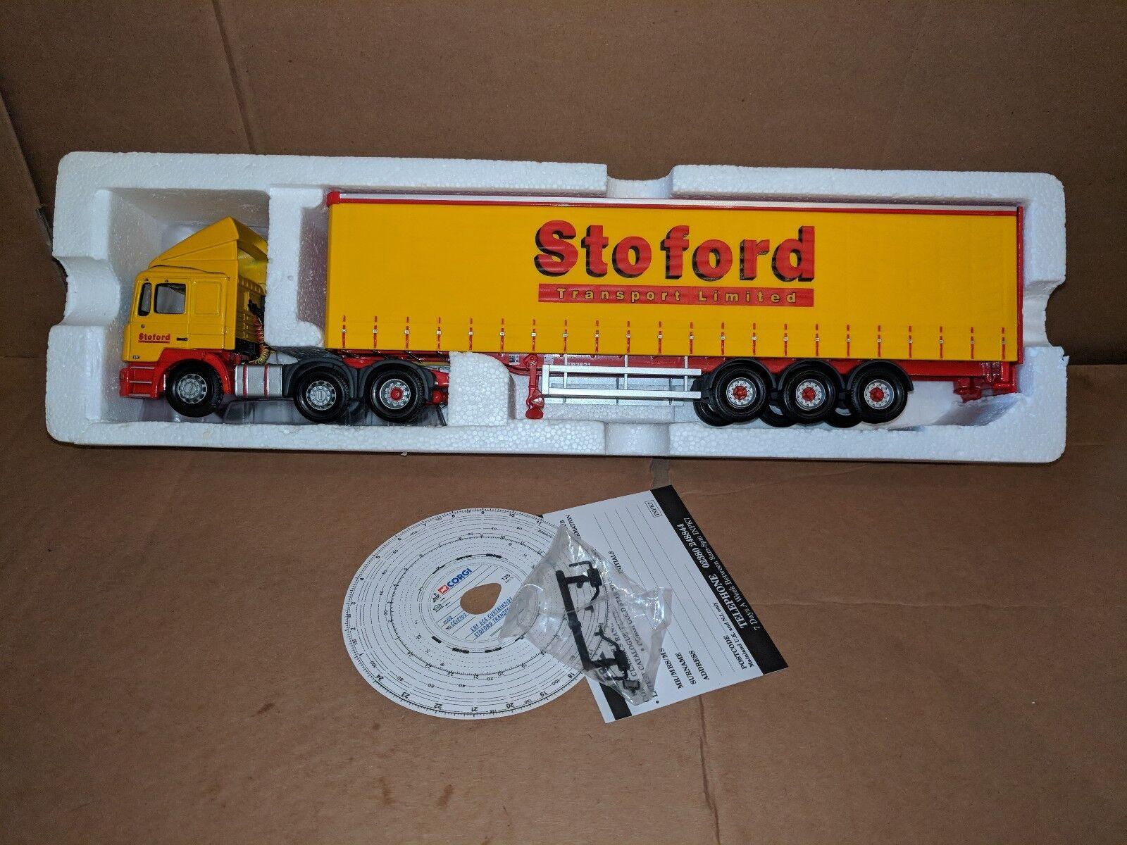 Corgi ERF ECS & C S- Stoford Transport