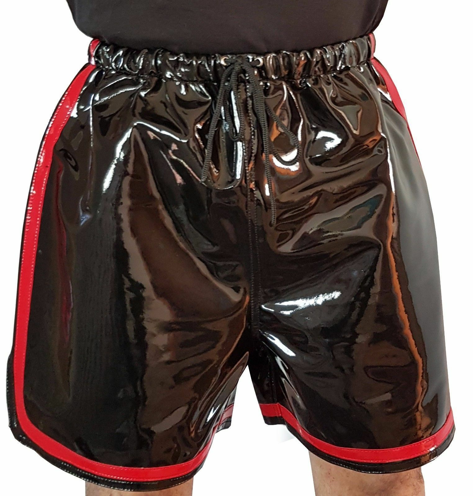 High Quality PVC Shorts with Elasticated Leisure Shorts Size M  L  XL  2XL