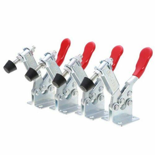 Métal 4X Toggle Clamp Quick Toggle libération Horizontal Toggle Clamps GH-201A #L2U
