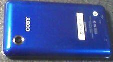 8GB COBY DIGITAL MP3 PLAYER - MODEL MP828 - BLUE - AUDIO/VIDEO/MICRO SD SLOT