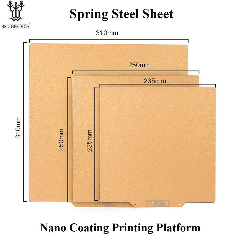 BIQU UltraSSS Spring Steel Sheet Heat Bed Platform+Magnetic Sheet For CR10 Ender