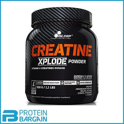 Olimp Creatine Xplode Powder - 500g - 100 Servings - Added Taurine!