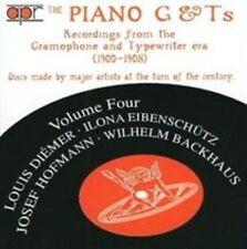 PIANO G & T'S VOL. 4 NEW CD