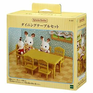 Image Is Loading Sylvanian Families Dining Table Set Epoch Ka 421new