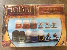 The Hobbit An Unexpected Journey Strategy Battle Game + Paint Set Brand New!