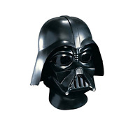 Star Wars 2 Piece Darth Vader Deluxe Helmet Lightweight Adult Full Mask Costume