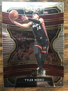 2019-20 Panini Select Concourse Tyler Herro Prizm Rookie card RC #63 Miami Heat