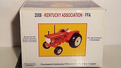 Ertl Allis Chalmers D21 1/16 diecast metal farm tractor replica collectible
