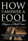 How to Answer a Fool 9781456768423 by Marquinn Carson Paperback