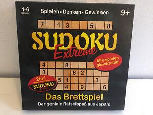 Sudoku-extremadamente-juego-de-mesa-incl-duelo-tambien-sola-sociedad-Quiz-knobel-2in1