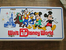 Walt Disney World Schild - Blech  Schild 30 cm x 15 cm unbenutzt
