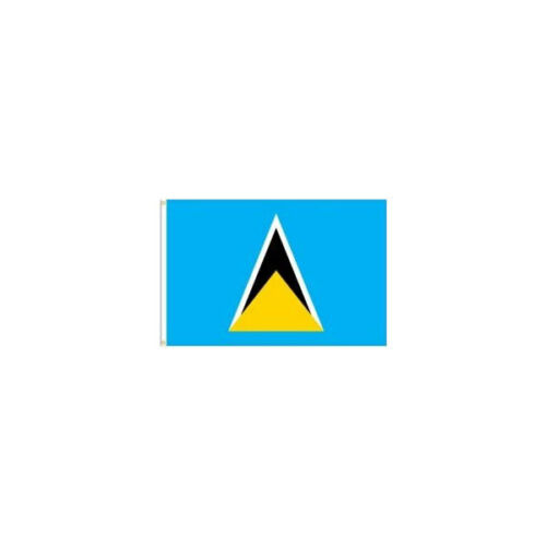 NEW ST LUCIA  COUNTRY  3/' X 5/' FEET FLAG BANNER .