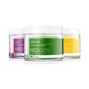 Neogen-Dermalogy-Bio-Peel-Gauze-Peeling-Pads-Wine-Lemon-Green-Tea-US-SELLER