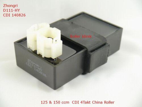 CDI Steuergerä für 125//150ccm CDI für Retro Roller Znen ZN125T-H-20