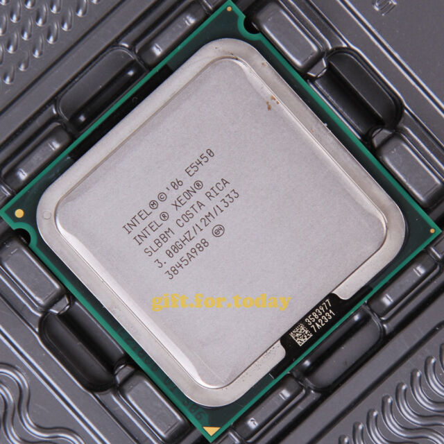 Original Intel Xeon E5450 3 GHz Quad-Core (EU80574KJ080N) Processor CPU