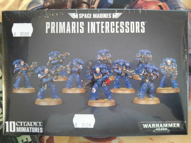 Warhammer 40.000 - Space Marines Primaris Intercessors 48-75 99120101190