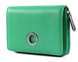 Aimable Mandarina Duck Mellow Leather S Purse Portefeuille Jelly Bean Vert Nouveau