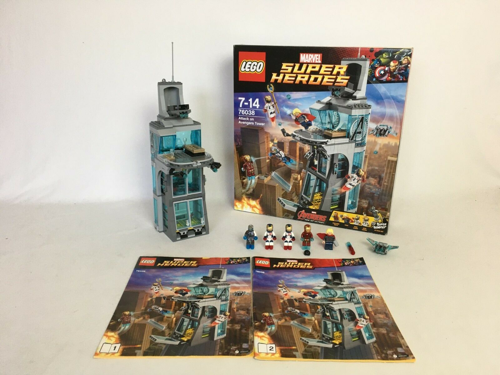 LEGO® Marvel Super Heroes 76038 Attak on Avengers Tower