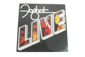 Foghat Live 1977 12in Vinyl 33 RPM LP Record BRK 6971