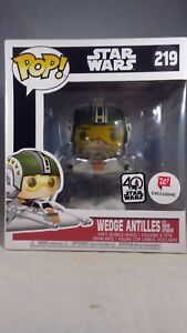 Funko Pop Star Wars Wedge Antilles With Snow Speeder Exclusive