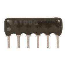 Xicon 264-10K-RC Resistor Net 10k Ohm ±200ppm °C BUS 6-Pin Sip 20 pcs