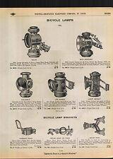 1910 ADVERTISEMENT Oil Bicycle Lamp Lmaps Light Solar Jim Dandy 20th Century