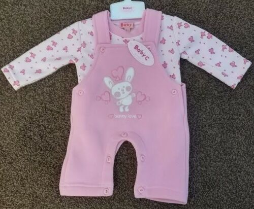 Girls Babies Babywear Clothes Dungarees Babygrow Sleep Jumper Joggers All In One